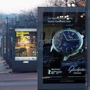 attends the Golden Bear Lounge by Glashuette Original on Februar