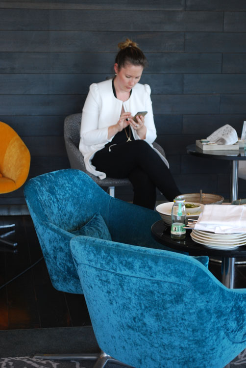 Anita Sorgers, PR Managerin Vienna House Berlin - immer busy