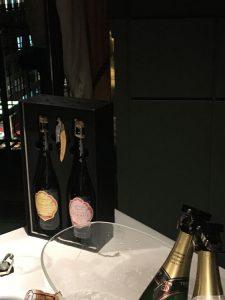 Champagnerflaschen in Box