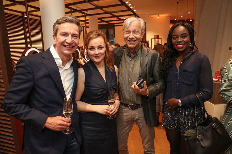 Victoria Gebhardt-Euler und Cay Polley und Jo Groebel Fotos: Eventpress Fuhr