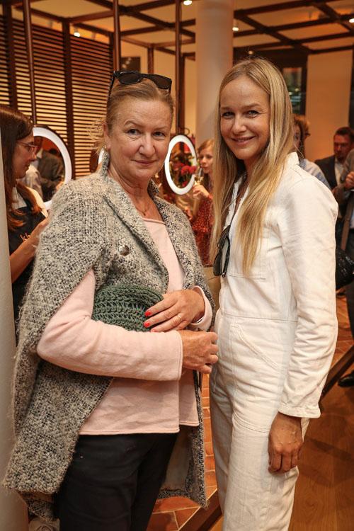Esther Seibt mit Mutter Martina