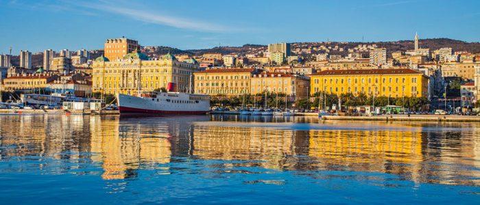 Hafen von Rijeka