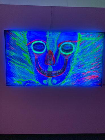 Kilian Saueressig Ausstellung kunsthalle messmer Google of Knowledge