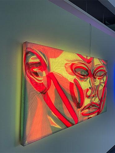 Kilian Saueressig Ausstellung in der kunsthalle messmer