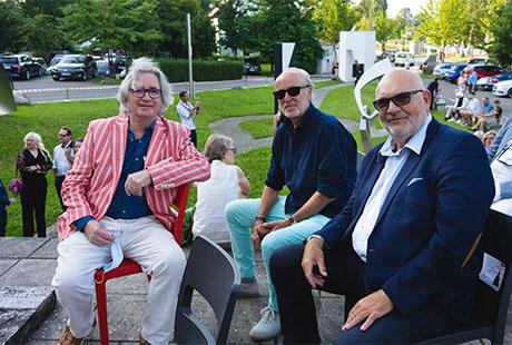 Die Künstler Kevin Clarke, dirk Sommer, Olaf Jaeschke