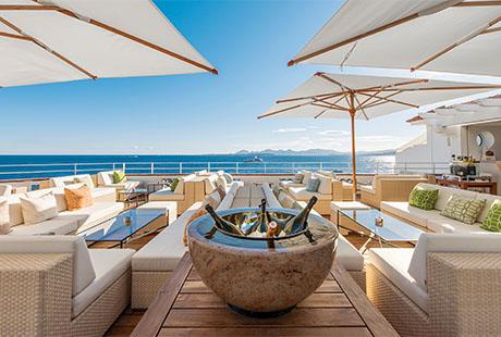 """Der coolste Ort auf """"le Cap"""" die Eden-Roc Champagne Lounge"""