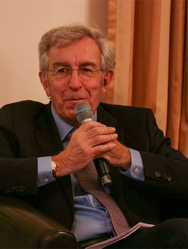 Prof. Ruprecht Eser im Club International Leipzig