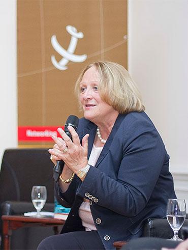 Sabine Leutheusser-Schnarrenberger im Club International Leipzig